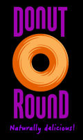 donut round logo